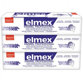 ELMEX Enamel Protection Professional zubní pasta 3x 75 ml