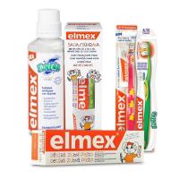 Elmex dětské pasty a ústní voda