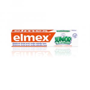 ELMEX Junior Zubní pasta pro děti 6-12 let 75 ml