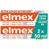 ELMEX Kids Zubní pasta pro děti od prvního zoubku do 6ti let 2x 50 ml