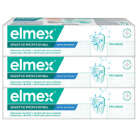 ELMEX Sensitive Professional Gentle Whitening Zubní pasta 3 x 75 ml