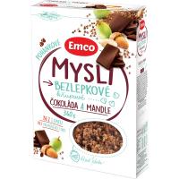 EMCO Mysli Pohankové čokoláda a mandle 340 g