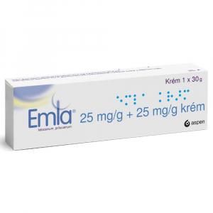 EMLA Krém 25 mg 30 g