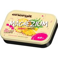 ENERGIT Magnézium příchuť ananas 42 tablet