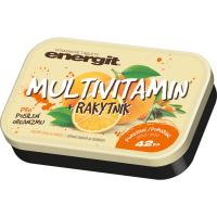 Energit Multivitamín pomeranč 42 tablet