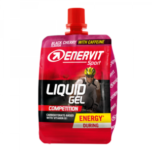 ENERVIT Liquid gel competition s kofeinem příchuť višeň 60 ml