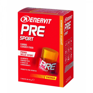 ENERVIT PRE Sport energetické želé pomeranč 5x45 g