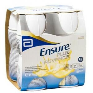 ENSURE PLUS Advance banánová příchuť 4 x 220 ml
