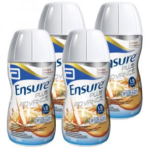 ENSURE PLUS Advance čokoládová příchuť 4 x 220 ml