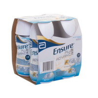 ENSURE PLUS Advance vanilková příchuť 4 x 220 ml