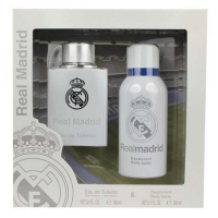 EP Line Real Madrid - toaletní voda s rozprašovačem 100 ml + deodorant ve spreji 150 ml