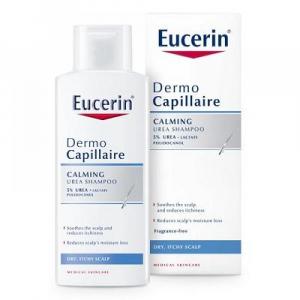 EUCERIN DermoCapillaire Šampon na vlasy 5% UREA pro suchou pokožku 250 ml