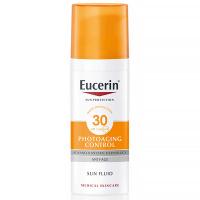 EUCERIN Sun Photoaging Control Emulze na opalování na obličej proti vráskám SPF 30 50 ml