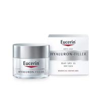 EUCERIN Hyaluron-Filler Denní krém SPF 15 pro suchou pleť 50 ml