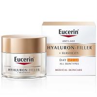 EUCERIN Hyaluron-Filler + Elasticity Denní krém SPF 30 50 ml