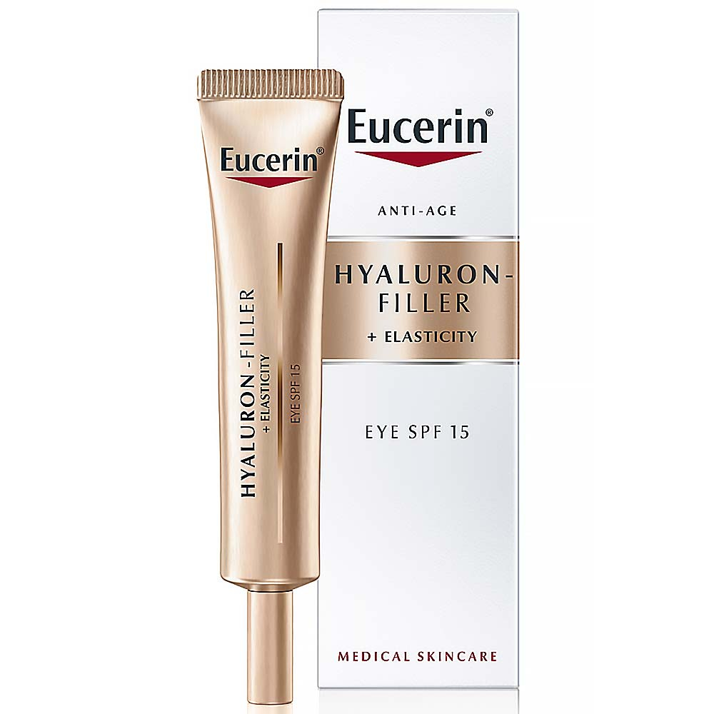 EUCERIN Eucerin Hyaluron-Filler + Elasticity Oční krém SPF 15 15 ml