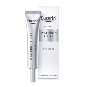 EUCERIN Hyaluron-Filler Oční krém SPF 15 15 ml