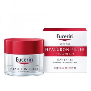 EUCERIN Hyaluron-Filler + Volume-Lift Denní krém SPF 15 pro suchou pleť 50 ml