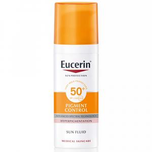 EUCERIN Sun Pigment Control Emulze na opalování na obličej s depigmentačním účinkem SPF 50+ 50 ml