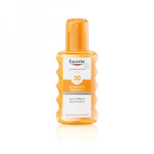 EUCERIN Sun Sensitive Protect Transparentní sprej na opalování SPF 30 200 ml