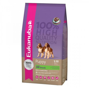 Eukanuba Dog Puppy & Junior Lamb & Rice 2,5 kg