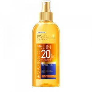 EVELINE Amazing Oils Opalovací olej SPF 20 150 ml