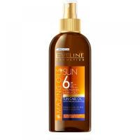 EVELINE Amazing Oils Opalovací olej s akcelerátorem SPF 6 150 ml
