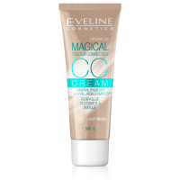 EVELINE COSMETICS Magical Correction - CC krém LIGHT BEIGE 30 ml