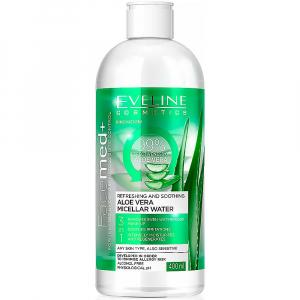 EVELINE Facemed+ Micelární voda s Aloe Vera 400 ml
