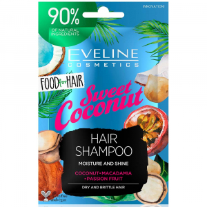 EVELINE Food For Hair Šampon na vlasy Coconut 20 ml