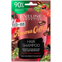 EVELINE Food For Hair Šampon na vlasy Coffee 20 ml