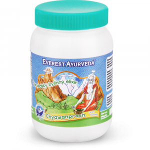 EVEREST AYURVEDA CHYAWANPRASH Zdraví & imunita 300 g bylinného džemu