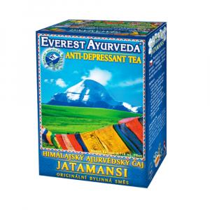 EVEREST AYURVEDA Jatamansi psychická relaxace a duševní rovnováha 100 g sypaného čaje