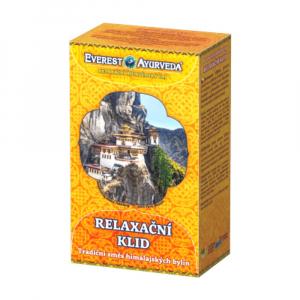 EVEREST AYURVEDA Relaxační klid sypaný čaj 100 g