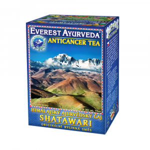 EVEREST AYURVEDA Shatawari onkologická terapie sypaný čaj 100 g