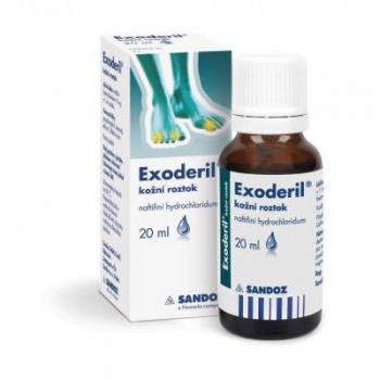 EXODERIL Roztok k zevnímu užití 200 mg 20 ml