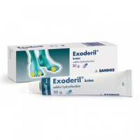 EXODERIL Krém 10 mg 30 g