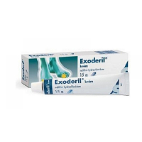 EXODERIL Krém 10 mg 15 g