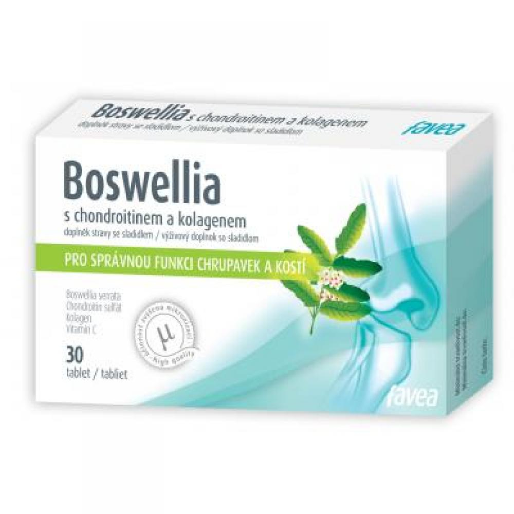 Boswellia s chondroitinem a kolagenem 30 tablet