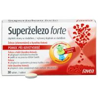 FAVEA Superželezo forte 30 tablet