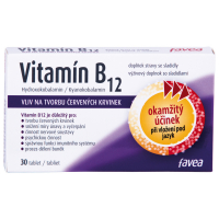 FAVEA Vitamín B12 30 tablet