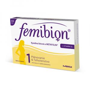 FEMIBION 1 s vitaminem D3 a jódem 30 tablet