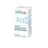 DR. SCHÜSSLERA Ferrum phosphoricum DHU D12 No.3 200 tablet