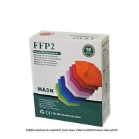 YWSH Respirátor FFP2 mix barev 10 kusů