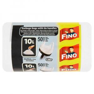 FINO Sáčky odpad ucho 10L bílé (50ks)