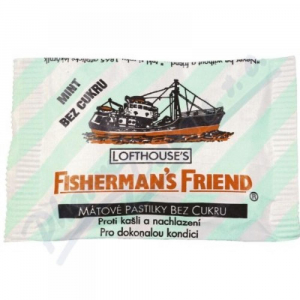 Fishermans friend bonbóny dia eukalypt.25g modré