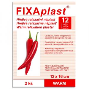 FIXAPLAST Warm Hřejivá náplast 12x16 cm 2 kusy