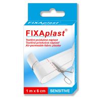 FIXAplast Sensitive textilní průdušná náplast 1 m x 6 cm