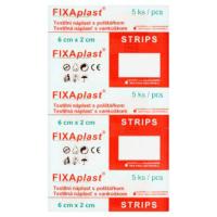 FIXAPLAST Strip Náplast 6 x 2 cm 5 kusů
