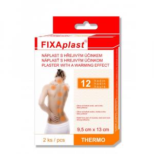 Fixaplast THERMO náplast hřejivá 9,5 x 13 cm 2 ks
